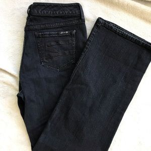 Seven7 Cleric Flare High Waist Jeans Size 10